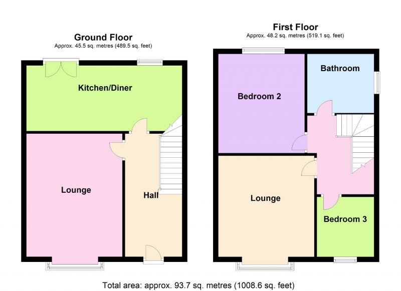 Floorplan for Stockport Road, Cheadle Heath, Stockport
