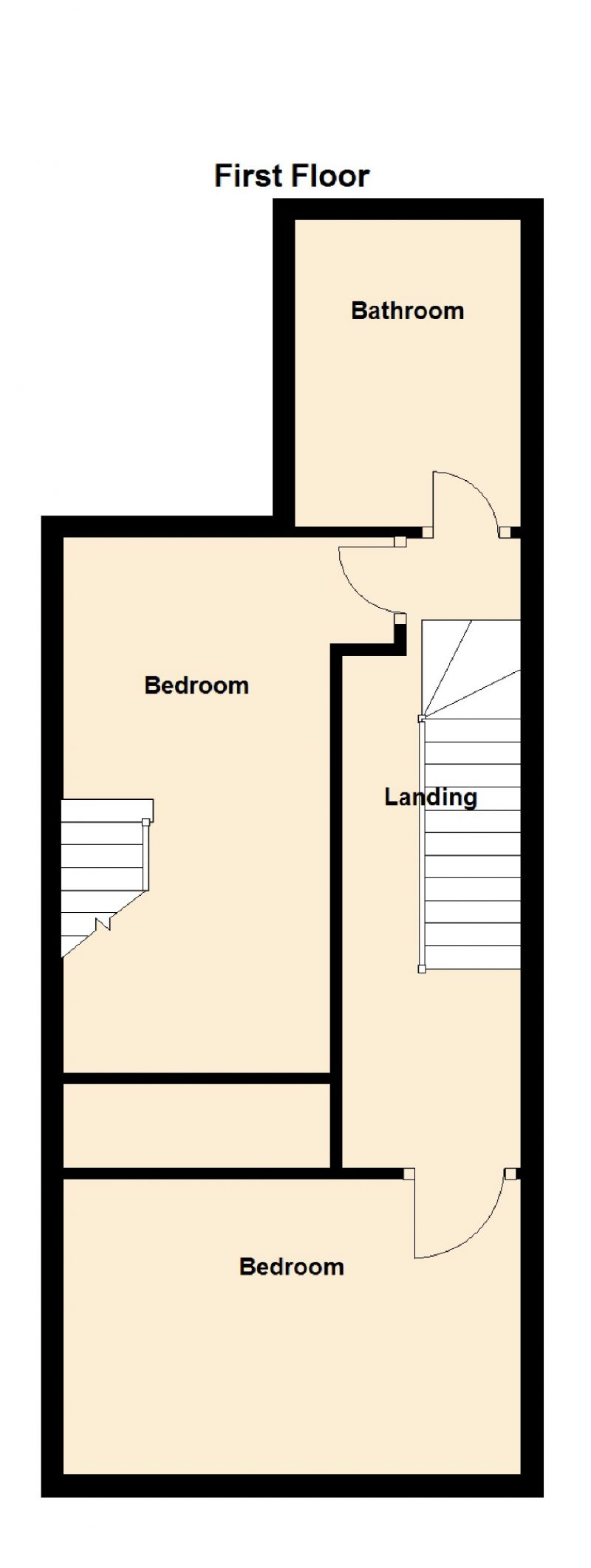 Floorplan for Mill Lane, Woodley, Stockport