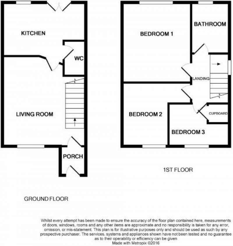 Floorplan for St James Road, Cheetwood, Salford
