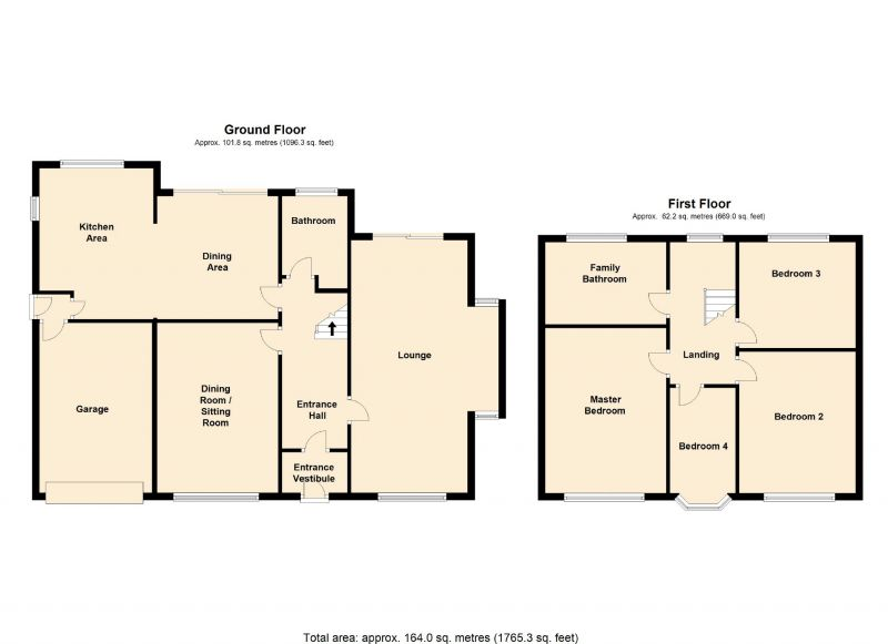 Floorplan for Bramhall Moor Lane, Hazel Grove, Stockport