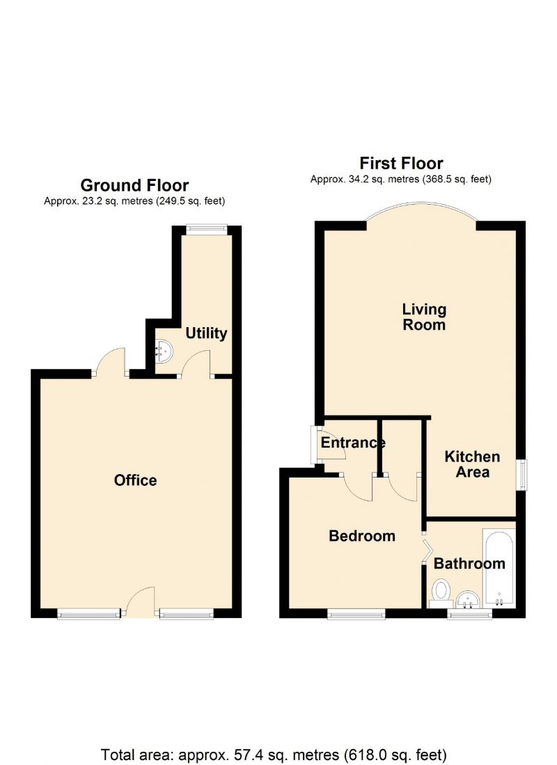 Floorplan for Norbury Mews, 159 Stockport Road, Stockport