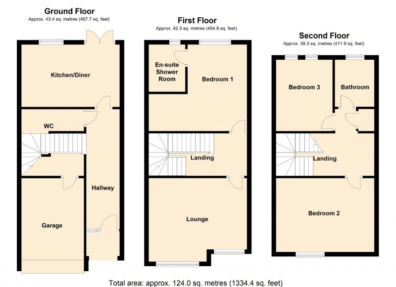 Floorplan for Mentor Street, Manchester