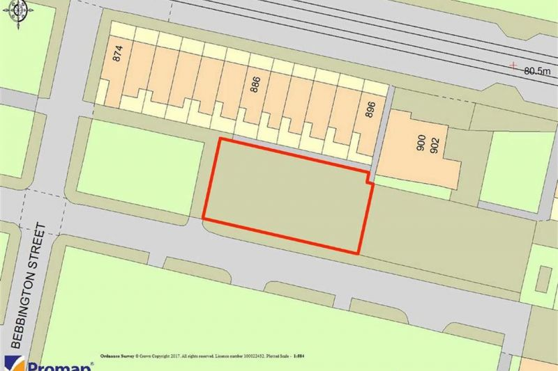Land To North Of Eccleshall Street, Manchester, M11 4SH