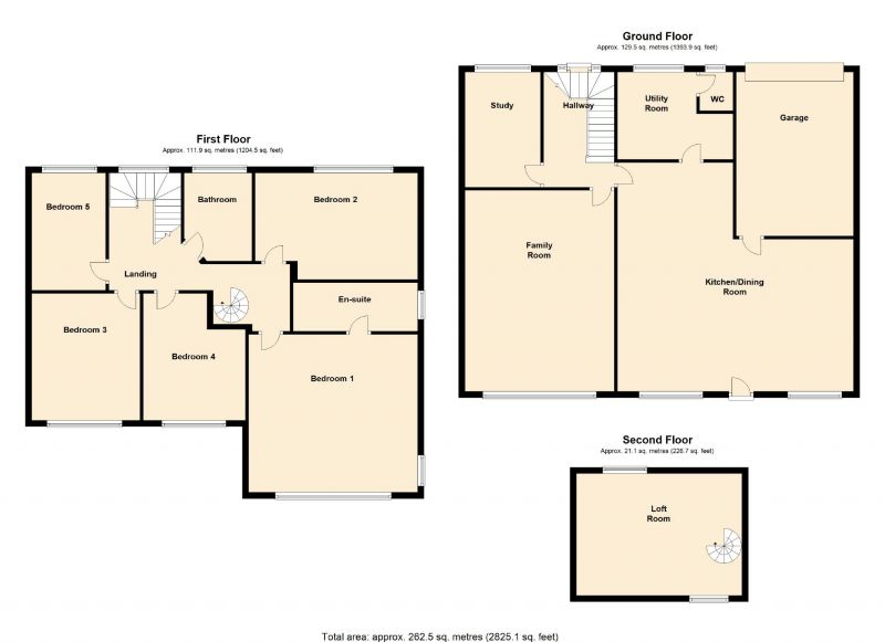 Floorplan for Links Road, Romiley, Stockport
