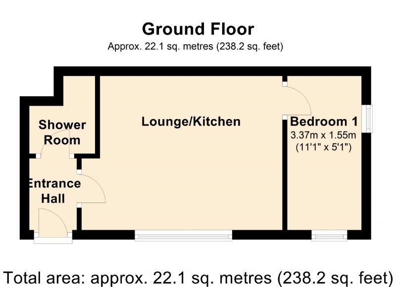 Floorplan for Wilmslow Road, Manchester