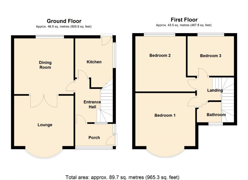 Floorplan for Scarisbrick Road, Manchester