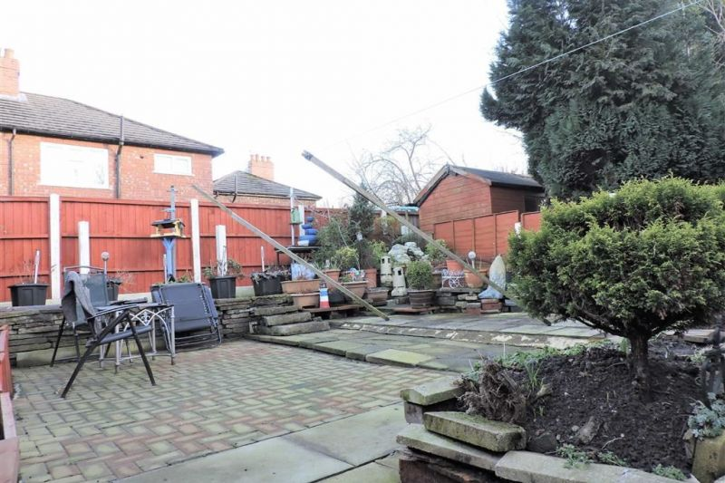 Rear Garden - Kilnwick Close, Gorton, Manchester