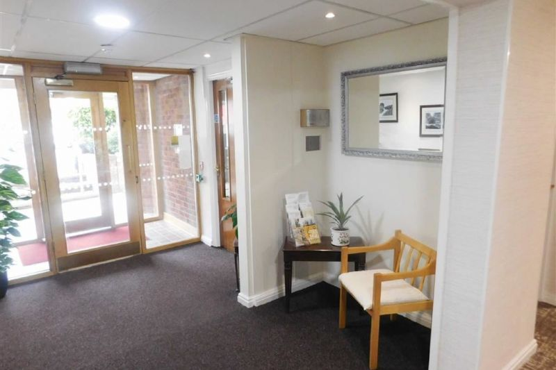 Hall, Corridor and Residents Lounge - Redfern House, Harrytown, Romiley