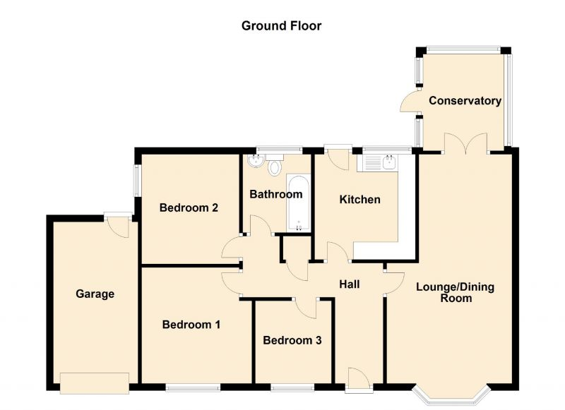 Floorplan for Lowes Lane, Denton, Manchester