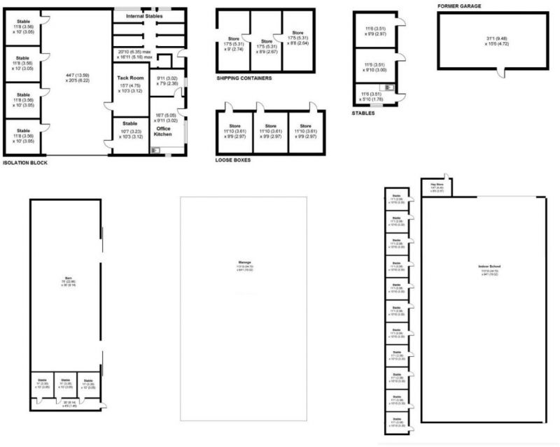 Floorplan for Higher Fold Farm, Windlehurst Road, Stockport