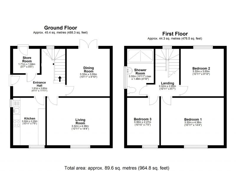 Floorplan for Ingleton Road, Edgeley, Stockport
