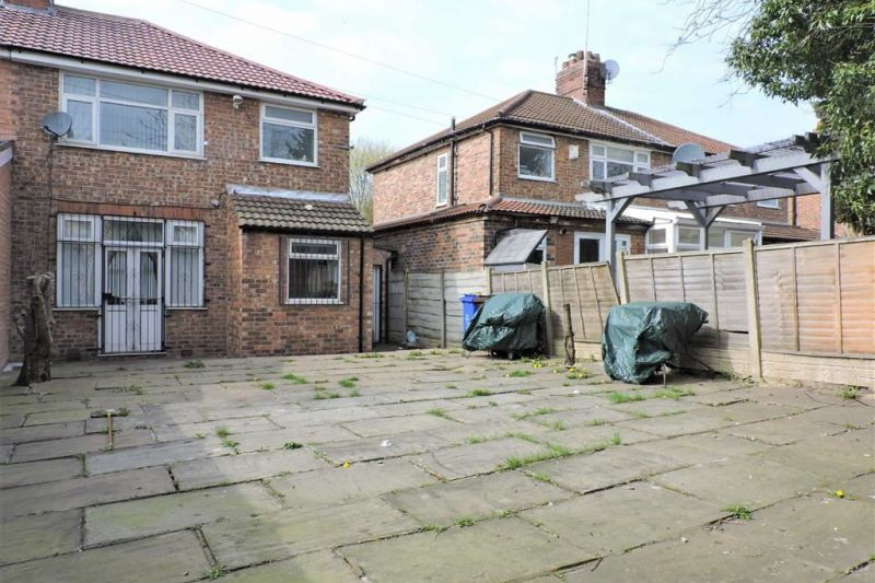 Rear Garden - Kingsway, Burnage, Greater Manchester