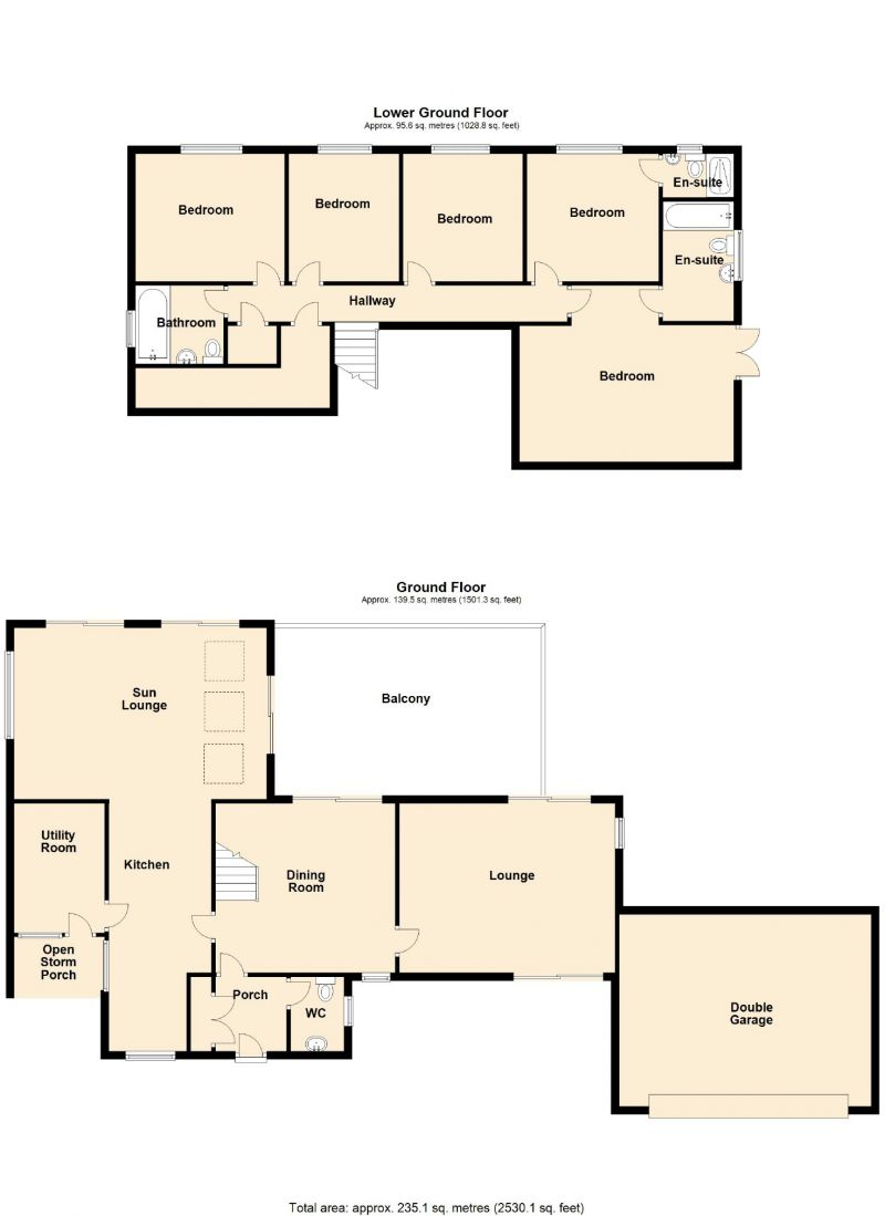 Floorplan for Arkwright Road, Marple, Stockport