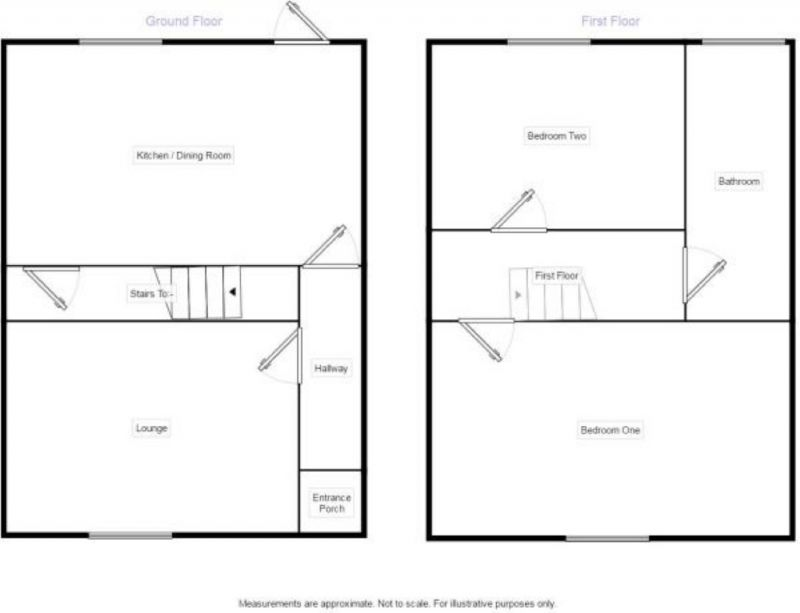 Floorplan for Blackburn Road, Darwen