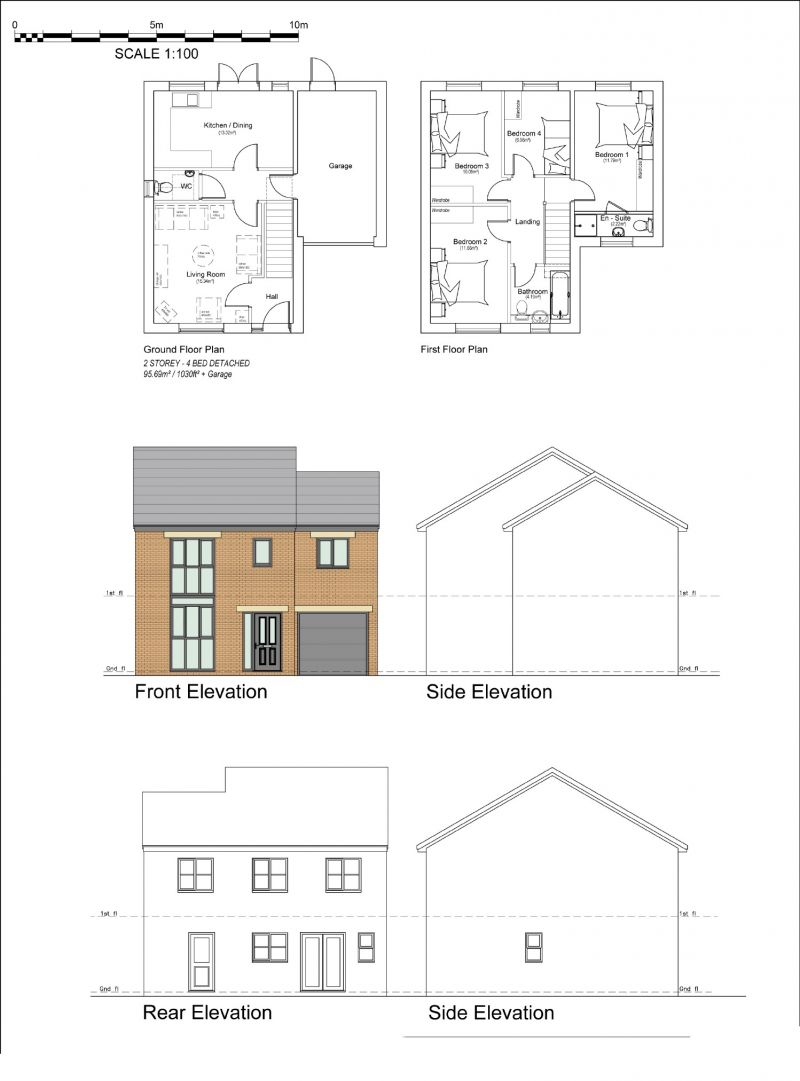Floorplan for Windsor Avenue, Irlam, Manchester