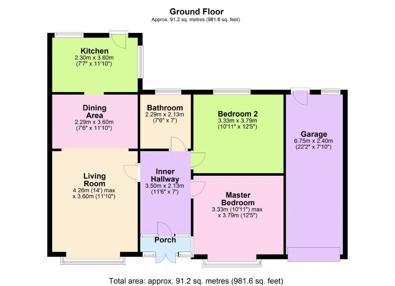 Floorplan for Station Road, Woodley, Stockport