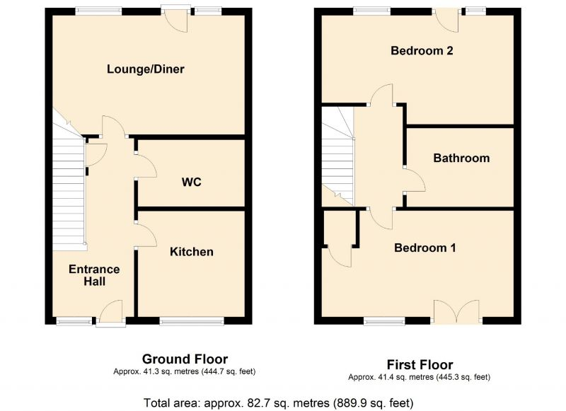 Floorplan for Silverlace Avenue, Openshaw, Manchester