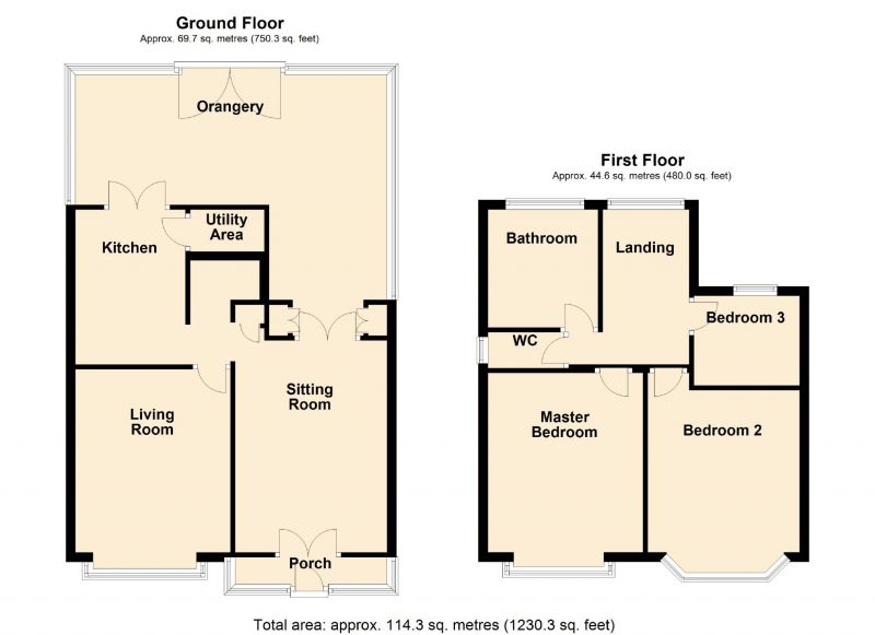 Floorplan for Stockport Road West, Bredbury, Stockport