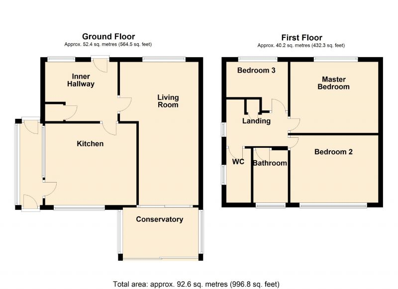 Floorplan for Alderley Drive, Bredbury, Stockport