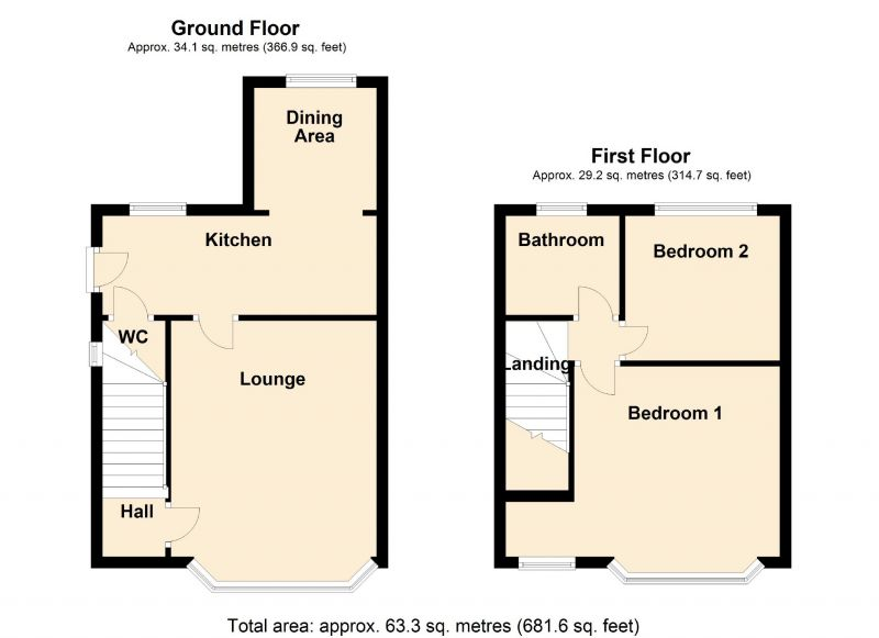 Floorplan for Foliage Road, Stockport