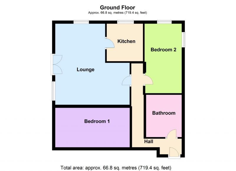 Floorplan for Manston Lodge, Hampstead Drive, Stockport
