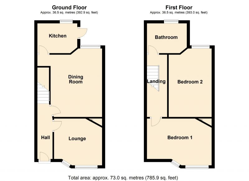 Floorplan for Ealing Avenue, Manchester