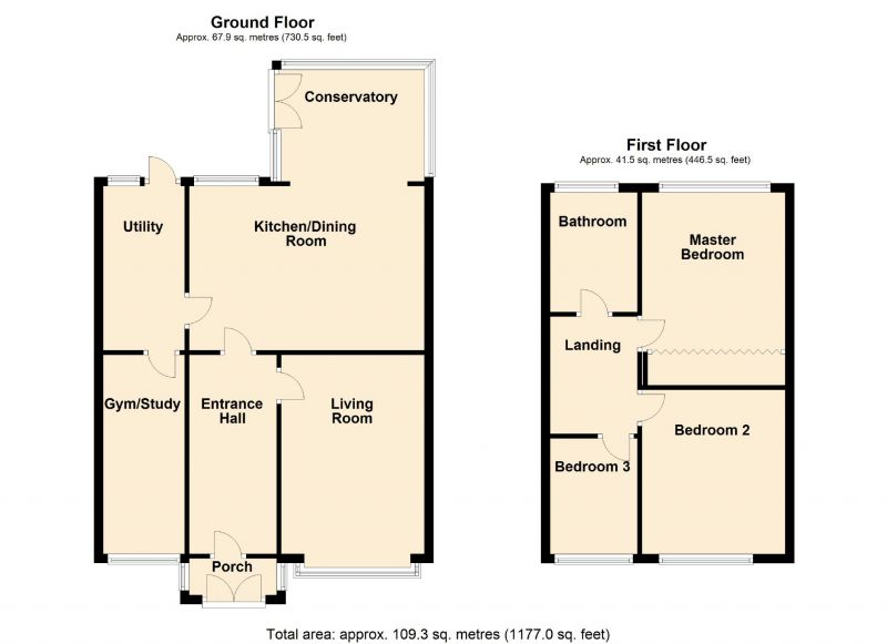 Floorplan for Thornley Crescent, Bredbury, Stockport