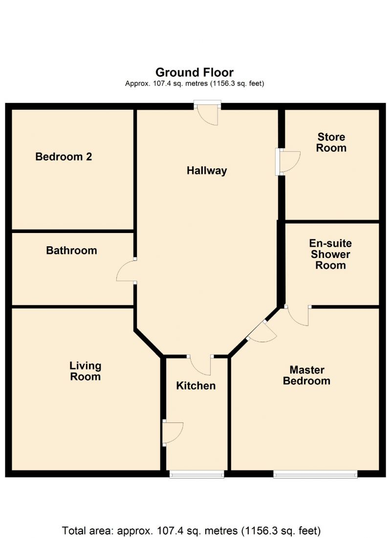 Floorplan for Carrfield, Hyde