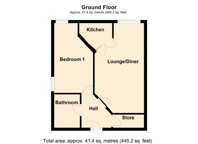 Floorplan for Metcalfe Drive, Romiley, Stockport