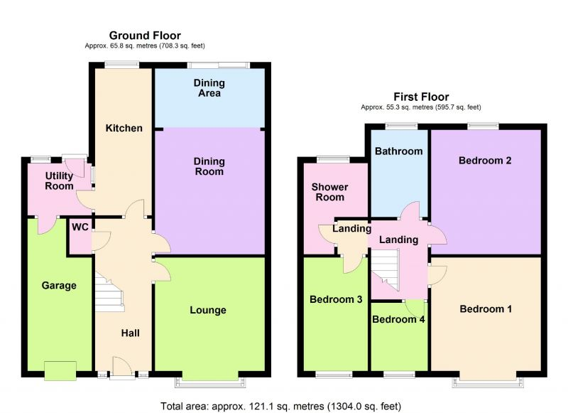 Floorplan for Sandhurst Road, Mile End, Stockport