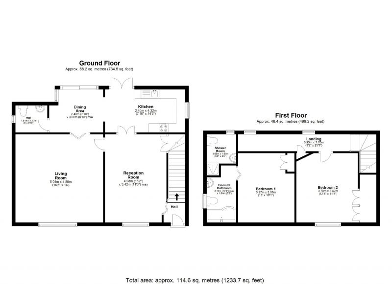 Floorplan for Turves Road, Cheadle Hulme, Cheadle