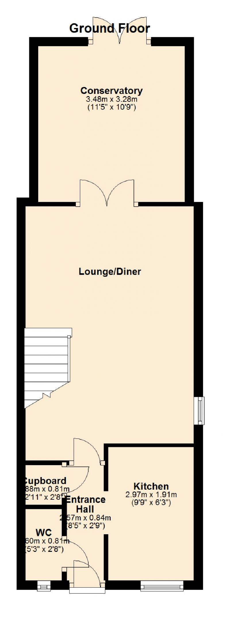 Floorplan for Garforth Crescent, Droylsden, Manchester