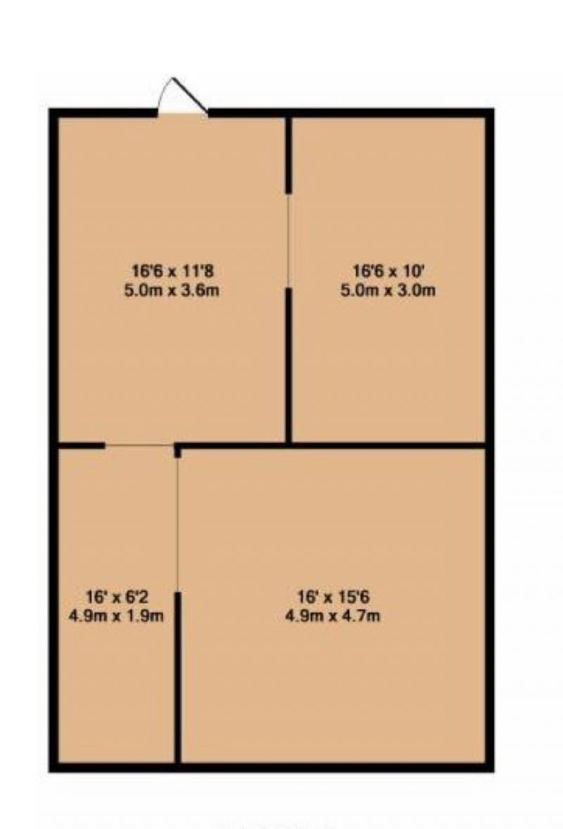 Floorplan for Northen Grove, Manchester