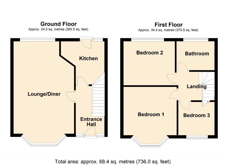 Floorplan for Wellgate Avenue, Manchester