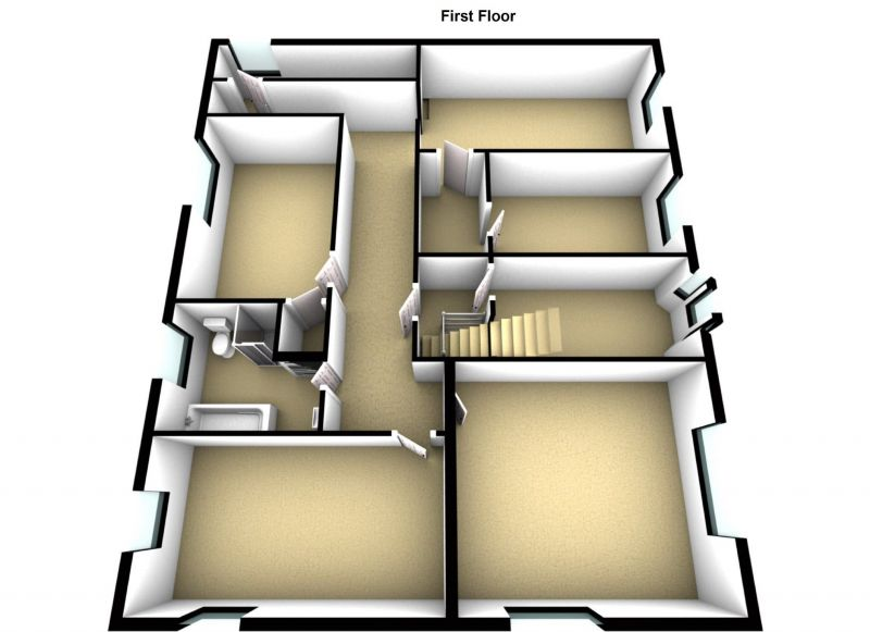 Floorplan for Blackpool Road, Ashton-on-ribble, Preston