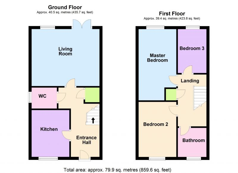 Floorplan for Gatsby Crescent, Stockport, Stockport