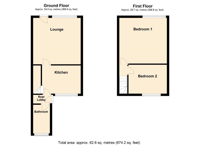 Floorplan for Padden Brook, Romiley, Stockport