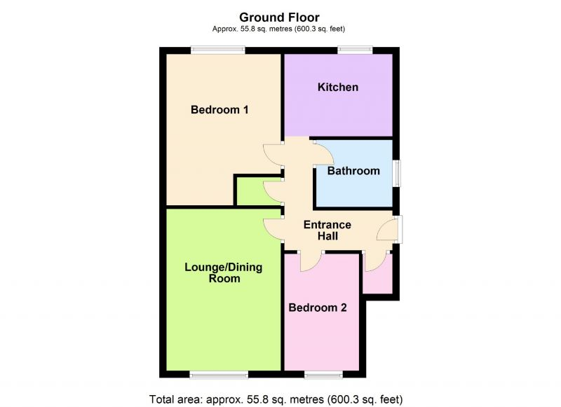 Floorplan for Dunvegan Road, Hazel Grove, Stockport