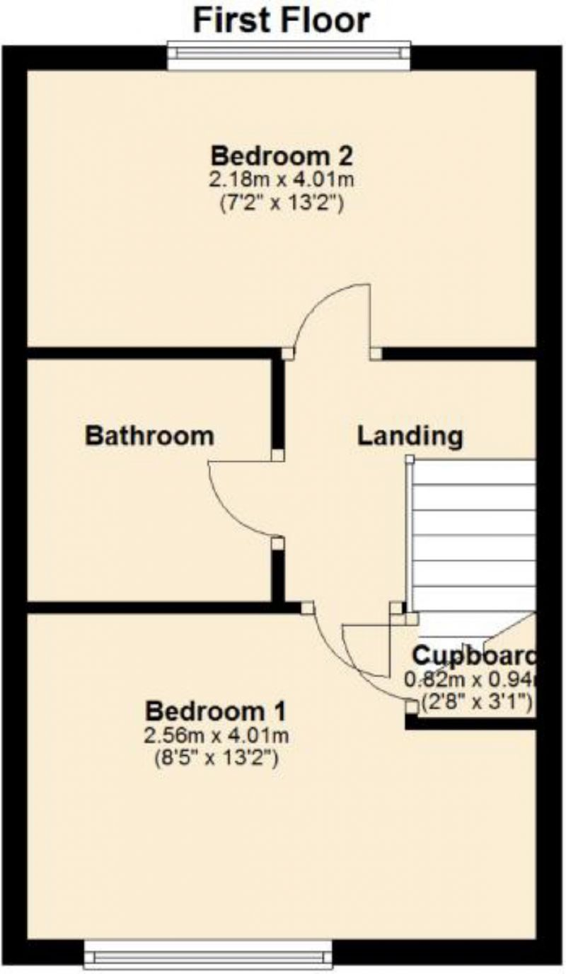Floorplan for Aldermoor Close, Manchester, Manchester