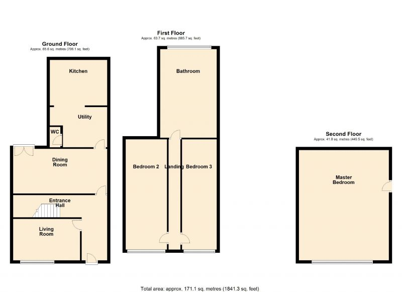 Floorplan for Stamford Road, Mossley, Ashton-under-lyne