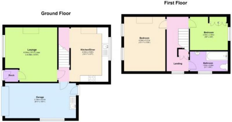 Floorplan for Didsbury Grove, Hindley, Wigan