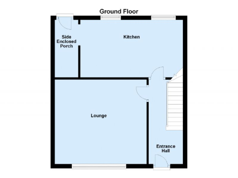 Floorplan for Tunstall Road, Clarksfield, Oldham