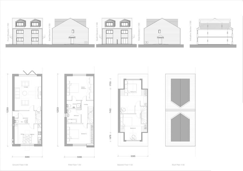 Floorplan for Rhoden Road, Leyland