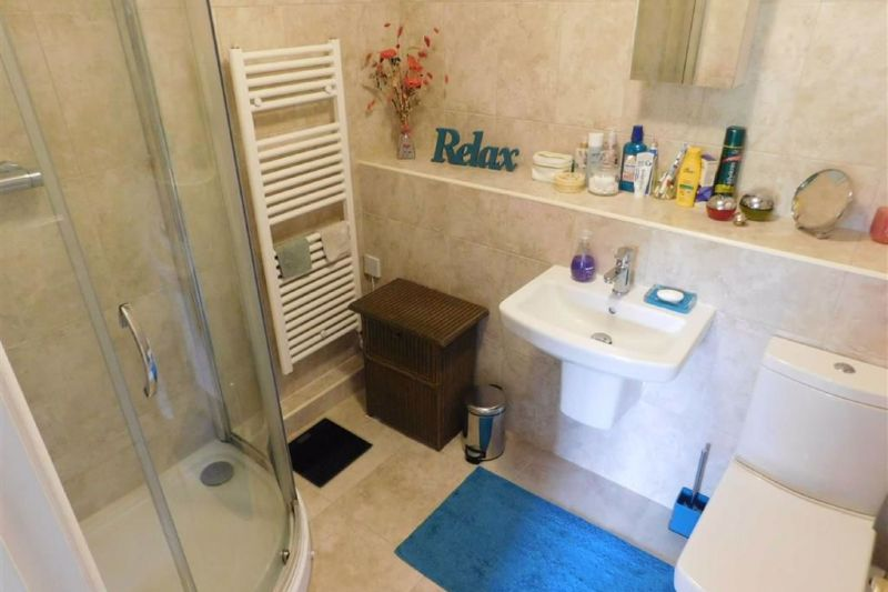 En Suite Shower Room - Riverside Court, Waters Edge, Marple Bridge, Stockport