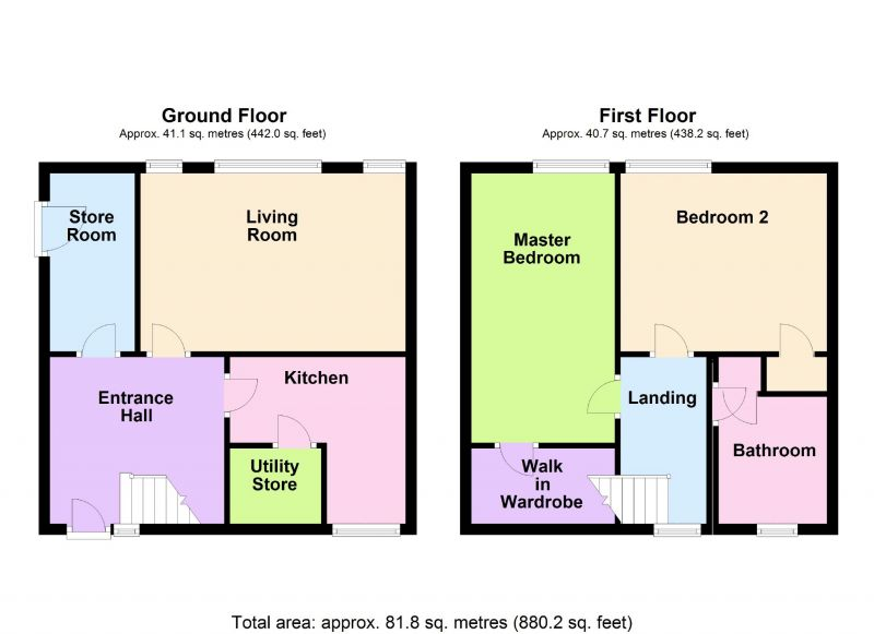 Floorplan for Foliage Crescent, Stockport