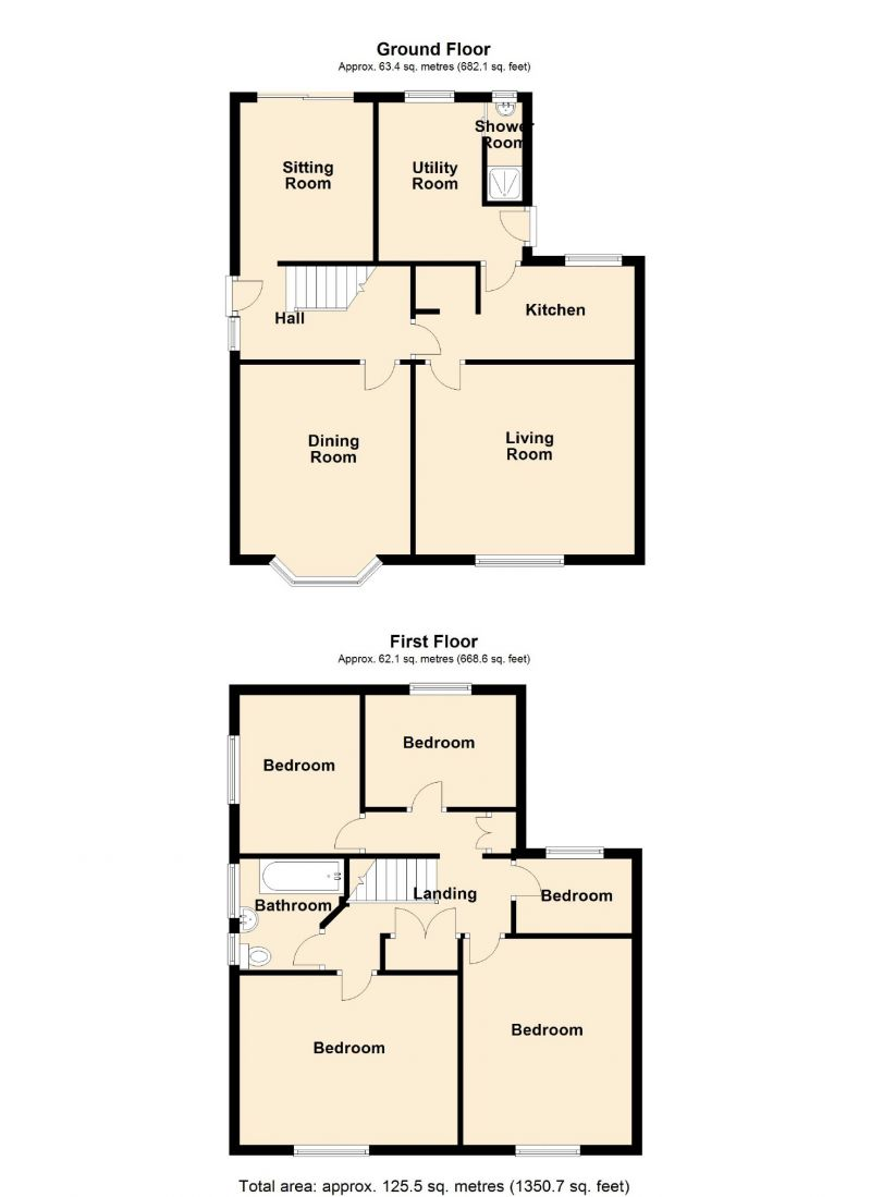 Floorplan for Hibbert Lane, Marple, Stockport