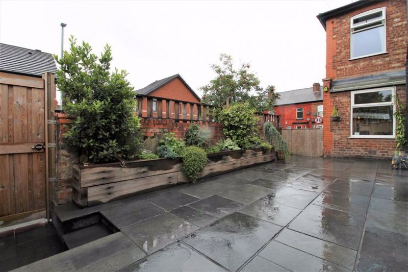 Rear Garden - Broom Lane, Levenshulme, Manchester