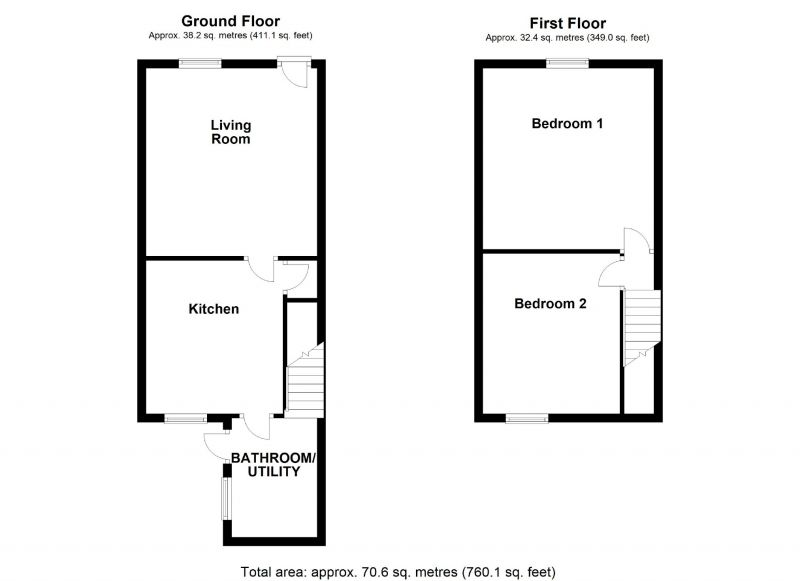 Floorplan for Astley Street, Dukinfield