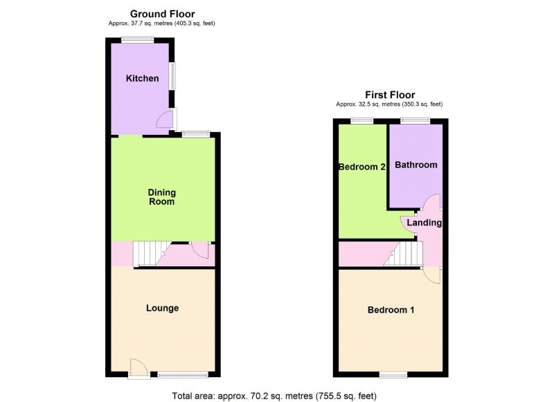 Floorplan for Celtic Street, Offerton, Stockport