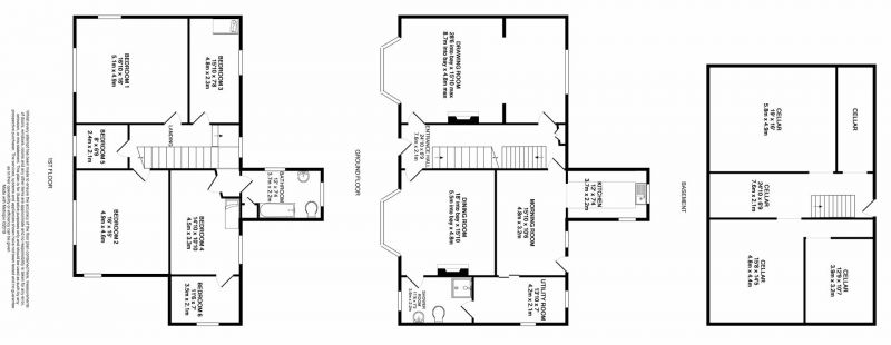 Floorplan for Chester Road, Northwich, Cheshire